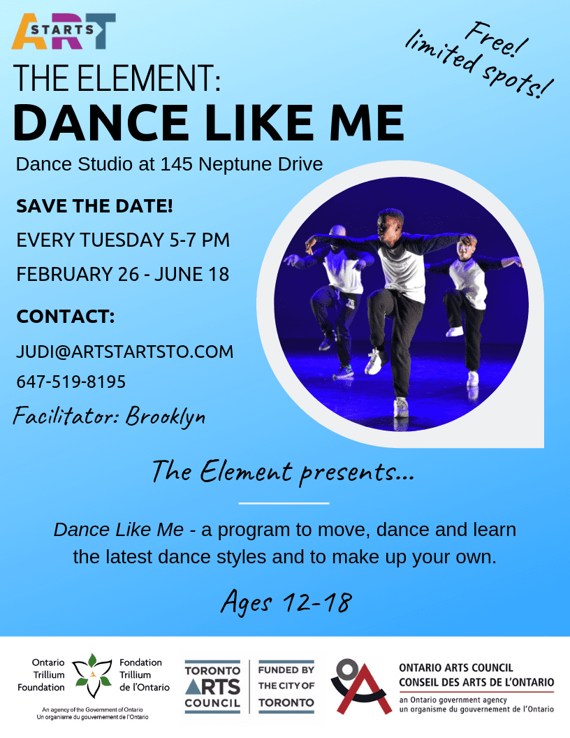 The Element: Dance Like Me